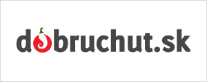 Banner na stiahnutie - Dobruchut 300x120 biely