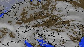 Satelitná mapa počasia