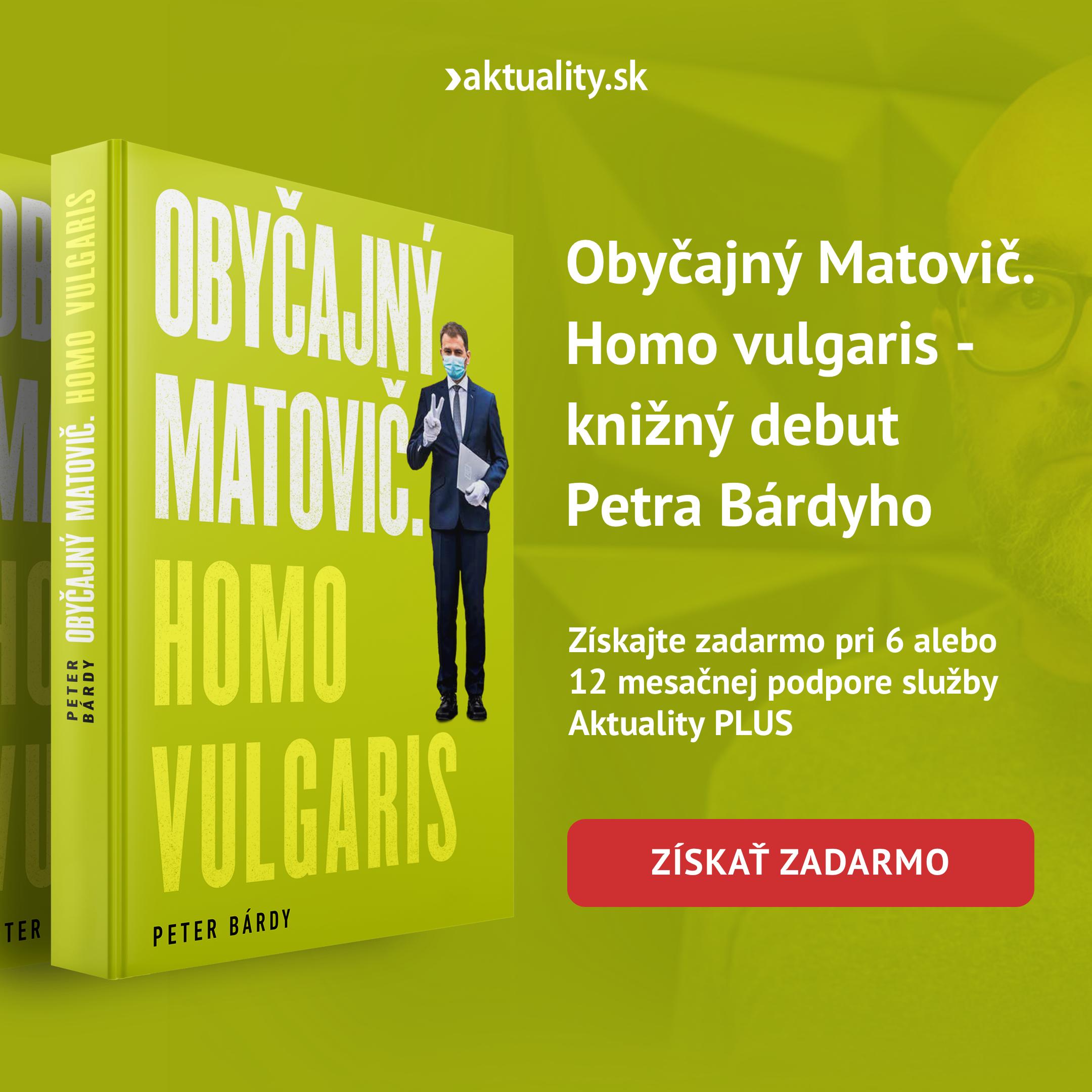 Obyčajný Matovič. Homo vulgaris - knižný debut Petra Bárdyho
