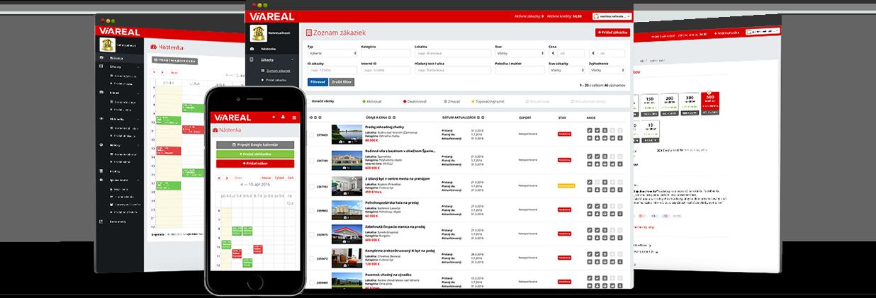 9b54638a1 ViaReal exportuje na najsilnejšie inzertné webstránky na Slovensku, medzi  ktoré patrí aj portál Nehnuteľnosti.sk - jednotka na trhu v realitnej  inzercii.