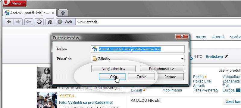 Opera krok č.ľ